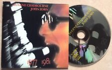 JOHN ZORN - EUGENE CHADBOURNE / 1977-1981 - CD (printed in Italy 1998) RARE !!!