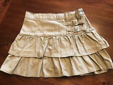 Girls The Children's Place Khaki Skirt With Buckles Size 6