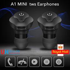 Wireless Mini True Bluetooth Twins In-Ear Earbud Headset Earphone Earbuds UK