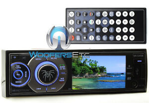 "SOUNDSTREAM VR345B 3.4"" TV BLUETOOTH CD DVD MP3 USB 300W AMPLIFIER CAR STEREO"