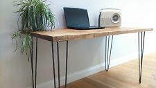 Solid Wood Vintage/Retro Rectangle Kitchen & Dining Tables