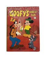 Vintage Walt Disney Goofy Forest Fun Book 1973 A Golden Book