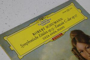 DGG RED Stereo 138867 SLPM Geza Anda Schumann Symphonic Etudes 12/63 NM