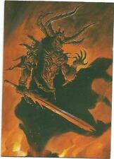 1995 Wizards of the Coast Everway CCG Art Promos #P10 Horned Demon Trading Card
