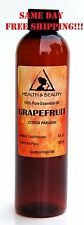 GRAPEFRUIT ESSENTIAL OIL AROMATHERAPY 100% PURE NATURAL 8 OZ