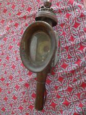 Ancienne LAMPE LANTERNE de CALÈCHE FIACRE VOITURE HIPPOMOBILE