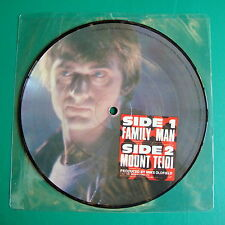 "Mike Oldfield Family Man Near Mint 7"" picture disc with Mint Sleeve"