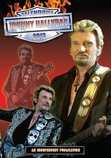 Johnny HALLYDAY Calendar 2013 NEW & OVP