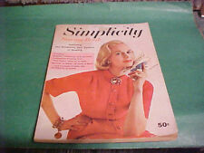 1957 SIMPLICITY SEWING BOOK INSTRUCTIONS OF 6 GARMENTS