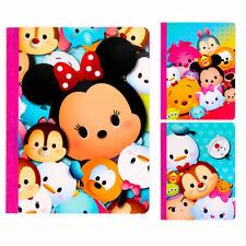 x3 DISNEY Tsum Tsum Mickey Mouse School Composition Book Theme Journal Notebook