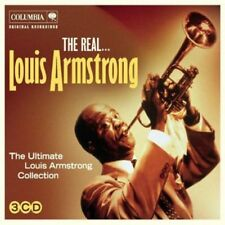 LOUIS ARMSTRONG - THE REAL... LOUIS ARMSTRONG - 3 CDS [CD]