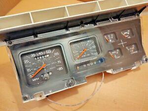 REBUILT 80-86 Gauge Cluster w/ Tach & Auto Indicator F150 F250 F350 Bronco NICE