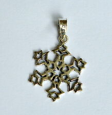 Sterling Silver (925)  Snowflake   Pendant  !!        Brand  New  !!