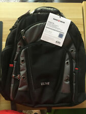 """NEW SwissGear Wenger Synergy Pro 16"""" Laptop Computer Backpack Black/Grey"""