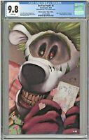 Do You Pooh #1 CGC 9.8 Unknown Comics Virgin Edition YOTV Joker Homage LTD to 40