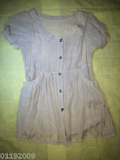 CLEARANCE SALE Unbranded Gray Blouse Top