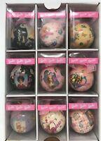 1996 Barbie Ball Ornament Set Of 9