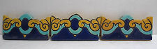 Vintage AET Border Tiles - Set of 3 Persian