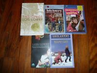 Lot of 5 LOIS LOWRY Chapter Books GIVER Anastasia GATHERING BLUE Autumn Street