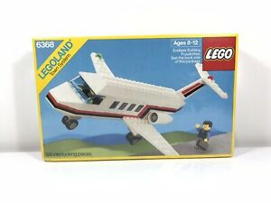 LEGO Vintage Set 6368-1 Jet Airliner Classic Town NEW SEALED