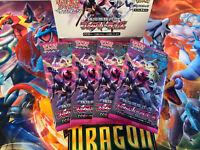 4x Japanese Pokemon Fairy Rise Booster Packs // Alolan Ninetales GX + Mimikyu GX