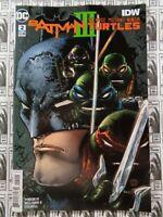 Batman Teenage Mutant Ninja Turtles III (2019) DC - #2, Tynion/Williams II, NM