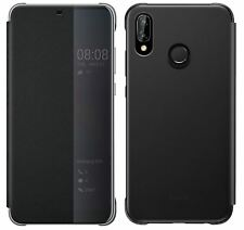 NEUF Huawei d'origine P20 Lite Intelligent Vue Rabattable Housse Porte-feuille