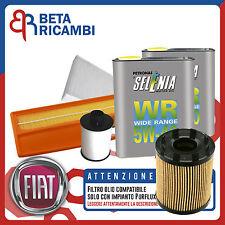 Kit Tagliando Fiat Punto 1.3 Multijet + 4 L Selenia WR 5W40 (IMP. PURFLUX)