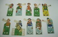 Lot 10 Vintage Lucky Strike Tobacco Advertising Bridge Tally/Place Cards B3