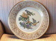 "Lenox American Bird Plate - ""Goldfinch"" - Signed Boehm - Mint - W/Box"