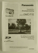 - Panasonic Bruksanvisning DMC-F1E - Digitalkamera - SE Svenska