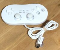 Nintendo Wii Unbranded Classic Controller Gamepad - Tested - Free Shipping