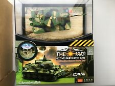 The Armor Corps 2117 R/C Tank Remote Control Toy 1:72 Ww2 German Tiger.New