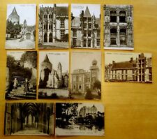 Lot of 10 Antique & Vintage Postcards ALL CHATEAUDUN, FRANCE