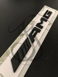 Mercedes-Benz AMG GLOSS BLACK Boot Badge Rear Emblem For C E B A S CLA CLS Class
