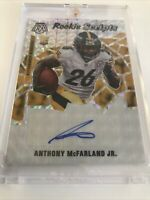 2020 Panini Anthony McFarland Jr. RS37  Rookie Scripts/Gold Autograph
