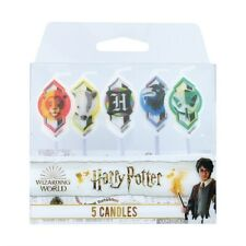 HARRY POTTER Candles 5 Piece Set Boys Girls Birthday Party Cake Cupcake Toppers