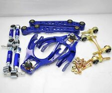 92-95 CIVIC 94-01 INTEGRA FRONT/REAR CAMBER TOE LOWER CONTROL ARM+BUSHING KIT BL