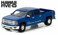 GREENLIGHT 1:64 2014 CHEVROLET SILVERADO HAWAII FIVE-O DIECAST CAR / TRUCK