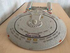 Star Trek Enterprise NCC 1701 D - Bandai Modell mit Geräusche und Beleuchtung