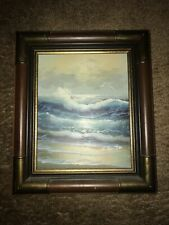 Collecters Corner, INC W. Hamilton Beach Cove Surf With Seagulls Lovely Timeless