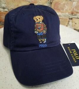 POLO Ralph Lauren Men's Hiker BEAR Cotton Hat Baseball Cap NWT
