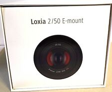 ZEISS LOXIA 50mm f/2 Planar T* Lens for Sony E Mount Made in Japan