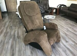 iJoy 300 Cashew Human Touch Robotic Massage Chair Massaging Recliner i Joy