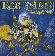 Iron Maiden - Live After Death JAPAN 2LP with OBI and INSERTS, NM VINYL