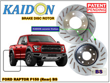 "Ford Raptor F150 brake disc rotor KAIDON (REAR) type ""RS"" / ""BS"" spec"