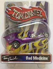 Toy Zone Iron Legends TOM DANIEL BAD MEDICINE PURPLE Die-cast 1/43 Scale