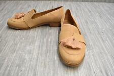 **TOMS Estel Flat Loafers - Women's Size 7.5 - Honey Leather