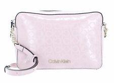 Calvin Klein CK Must EM EW Crossbody Umhängetasche Tasche Silver Pink Rosa