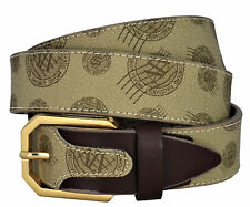 Cintura Alviero Martini ALV Unisex Marrone Belt Unisex Brown